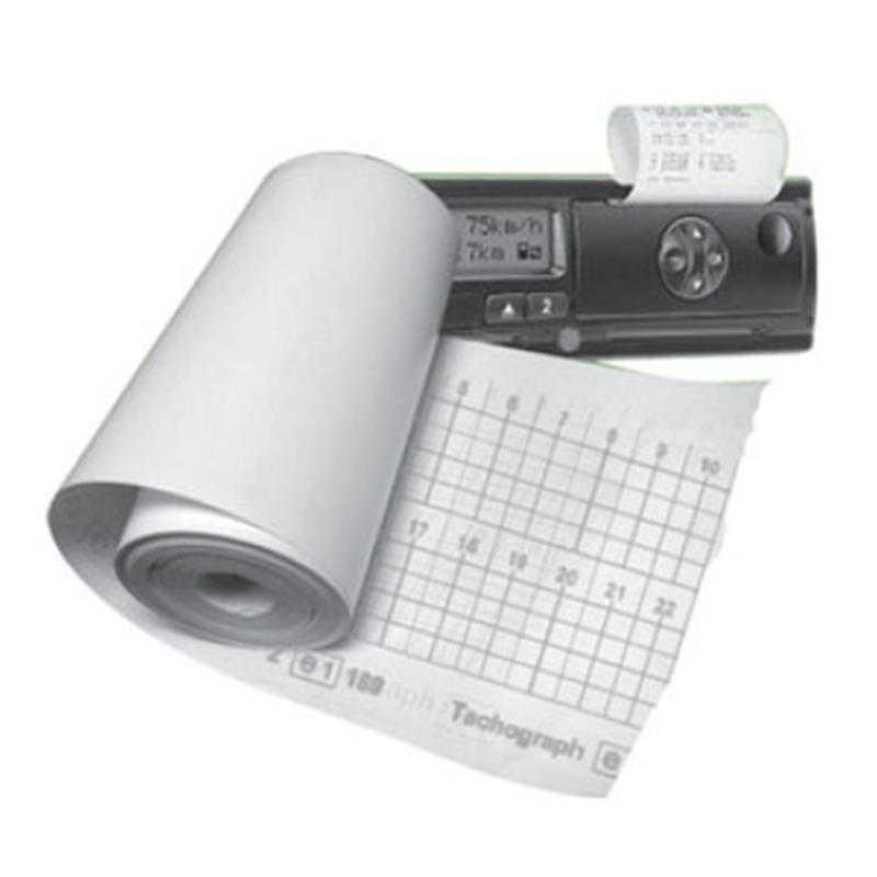 Лента (термобумага) для цифровых тахографов TRACK