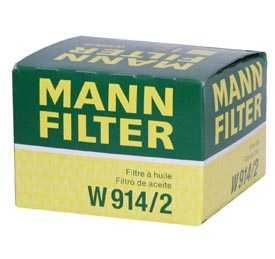 Масляный фильтр MANN W 914/2