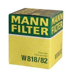 Масляный фильтр двигателя MANN W 818/82