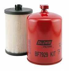 Набор из 2х топливных фильтров BF7929-KIT Baldwin Filters