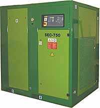 Стационарный винтовой компрессор SEC 750