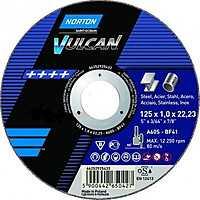 Круг отрезной NORTON T41-115X1.6X22.2-A46S-BF VULCAN