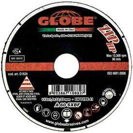 Круг абразивный отрезной GLOBE ZIP HP 125х1,0х22,2 - Globe (Италия)
