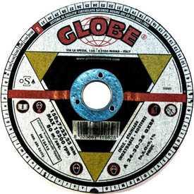 Круг абразивный шлифовальный GLOBE 150х7,0х22,2 A-R - Globe (Италия)