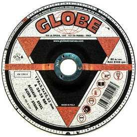 Круг абразивный шлифовальный GLOBE 180х7,0х22,2 A24-36R - Globe (Италия)