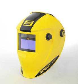 Маска сварщика хамелеон ESAB WARRIOR Tech 9-13 (Желтая) - ESAB (Швеция)