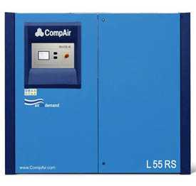 Воздушный винтовой компрессор с частотным преобразователем COMPAIR L 55 RS