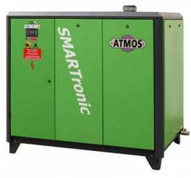 Воздушный винтовой компрессор с частотным преобразователем ATMOS ST 75 VARIO