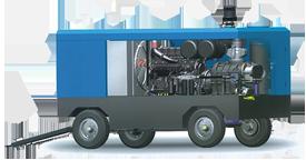Воздушный винтовой передвижной компрессор высокого давления DALI DLCY-45. 6/7