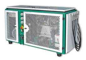 Компрессор для сжатия гелия HE и аргона AR до 350 и 420 бар Paramina Typhoon Classic 18E