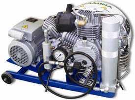 Компрессор для сжатия азота N2 Paramina Mistral M6-ET