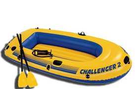 Лодка надувная Intex Challenger 2