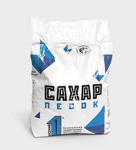 Сахар-песок в бумажных пакетах, 5 кг