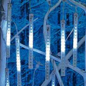 Светодиодная гирлянда 'ПАДАЮЩИЙ СНЕГ' LSF-100/1RB/WH 230V IP44