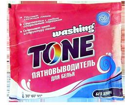 Пятновыводитель для белья Washing Tone 250 гр