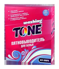 Пятновыводитель для белья Washing Tone 500 гр