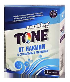 Средство против накипи в стиральных машинах Washing Tone 500 гр