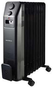 Радиатор электрический масляный Supra ORS-09-SN черный
