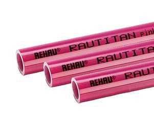 Отопительная труба RAUTITAN pink Ду 16х2,2