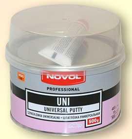 Шпатлевка UNI универсальная (500 гр), NOVOL