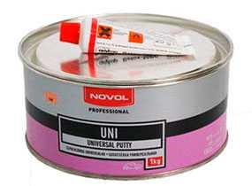 Шпатлевка UNI универсальная (1 кг), NOVOL