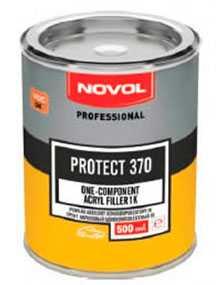 Акриловый грунт PROTECT 370 однокомпонентный (0,5 л), NOVOL