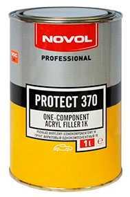Акриловый грунт PROTECT 370 однокомпонентный (1 л), NOVOL