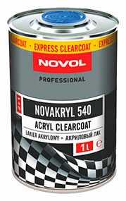Акриловый бесцветный лак 2+1 NOVAKRYL 540 (1л), NOVOL