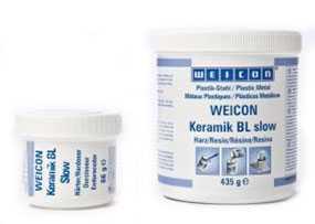 Металлополимер WEIСON Ceramic BL двухкомпонентный жидкий защитный (наполненный карборундом и цирконом)-0,5 кг-WEIСON (Германия)