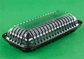 Упаковка для кондитерских изделий 240 мм х 120 мм х 62 мм
