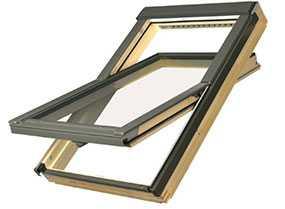 Мансардное окно со среднеповоротным открыванием FAKRO FTS-V U2