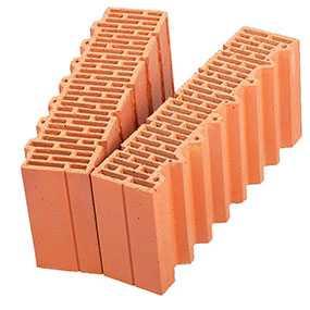 Керамический доборный блок Porotherm 51 1/2