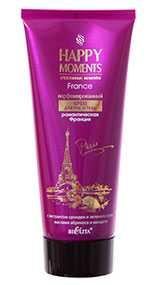 Парфюмированный крем для рук и тела Романтическая Франция, HAPPY MOMENTS, Белита-Витэкс