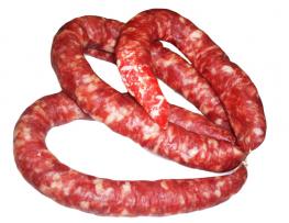 Колбаса сыровяленая полусухая Белорусочка высшего сорта