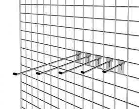 Решетка 2000х800 мм (арт. 6000), хром
