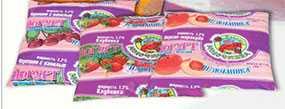 Йогурт Изюминка фасованный в пленку - ТМ Избушка молочника