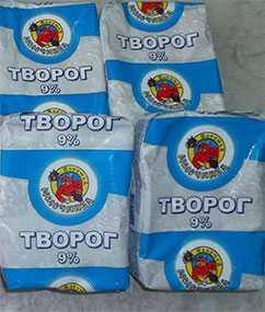 Творог 9 % фасованный - ТМ Избушка молочника