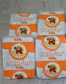 Творог 13 % фасованный - ТМ Избушка молочника
