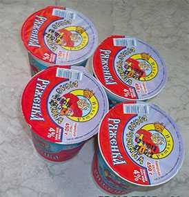 Ряженка 4 % - ТМ Избушка молочника