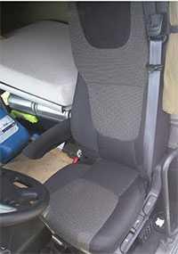 Сиденье водительское DAF XF (б/у)