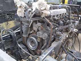 Двигатель SCANIA 4ser (б/у)