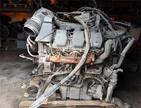 Двигатель MERCEDES OM501 (б/у)