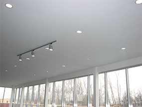 Потолок натяжной матовый белый (360-550 см)
