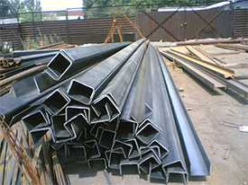 Швеллер гнутый 160х80х5,0мм (12м), Россия