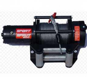 Лебедка Спрут-9000 3163-4501001 для автомобиля УАЗ