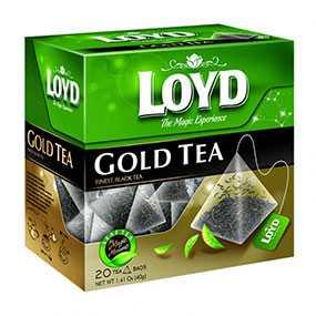 Чай Loyd Gold Tea черный