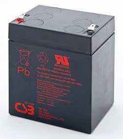 Аккумуляторная батарея 12V/4.5Ah CSB GP 1245 16W (F1); 90x102x70 (ШхВхГ)-CSB Battery (Вьетнам)