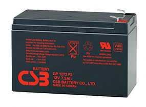 Аккумуляторная батарея 12V/7.2Ah CSB GP 1272 (F2); 151x94x65 (ШхВхГ)-CSB Battery (Вьетнам)