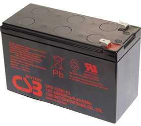 Аккумуляторная батарея 12V/10.5Ah CSB UPS 12580 (F2); 151x94x65 (ШхВхГ)-CSB Battery (Вьетнам)