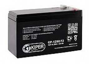 Аккумуляторная батарея 12V/9Ah Kiper GP-1290 (F2); 151x94x65 (ШхВхГ)-Kiper (Китай)